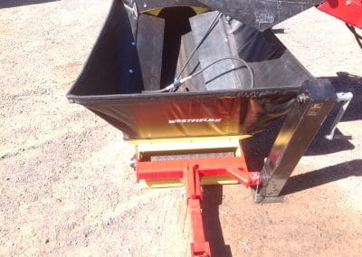 WCX24110 Belt Conveyor with Collapsible Hoppe
